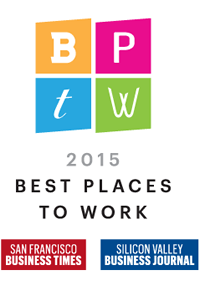 2015 Best Places To Work Logo