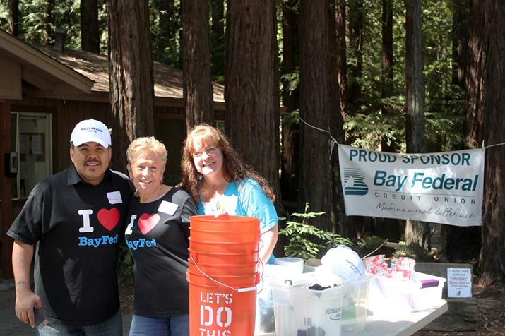 Bay Federal Employees Clean Up Camp Harmon